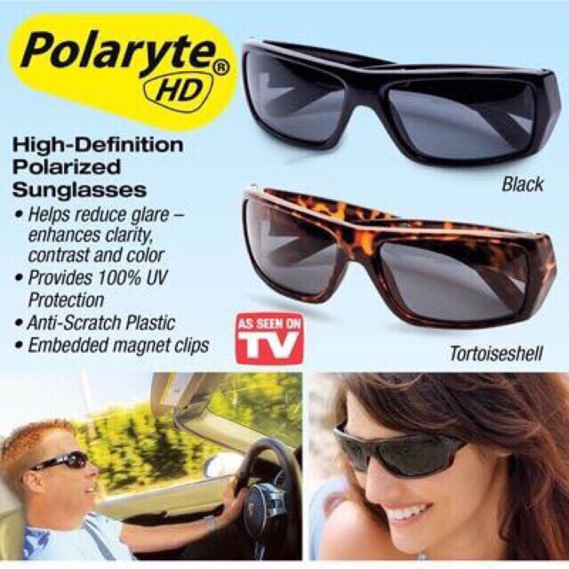 2b5acfcaee Polaryte HD Polarized Sunglasses (Classic Black)