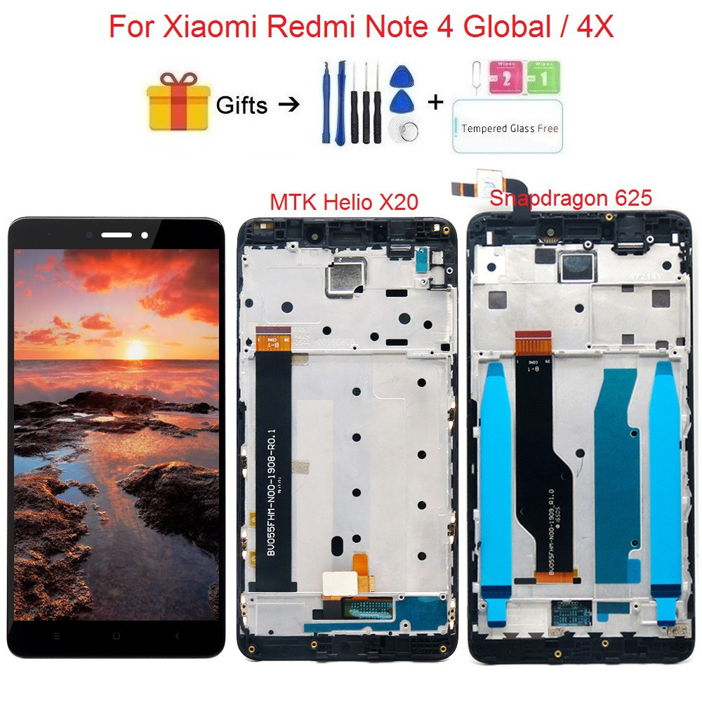 For Xiaomi redmi note 4X note4X LCD Display Touch Screen