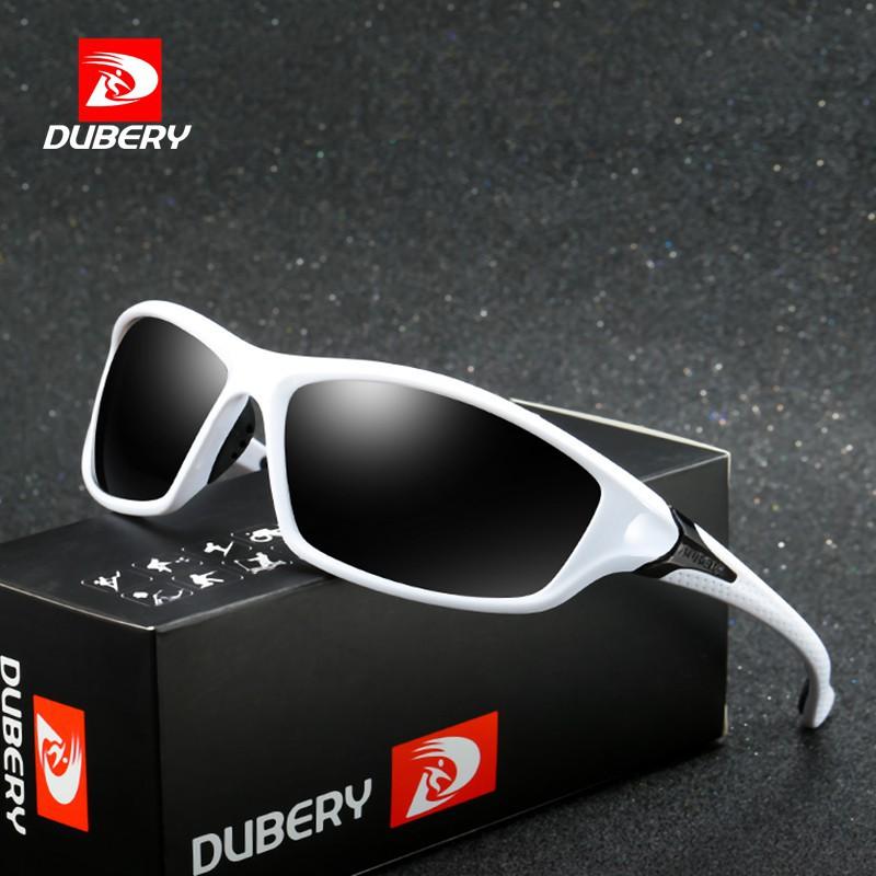 0670e5477ad08 DUBERY 2018 New Rectangle Polarized Sunglasses Men s SPORT