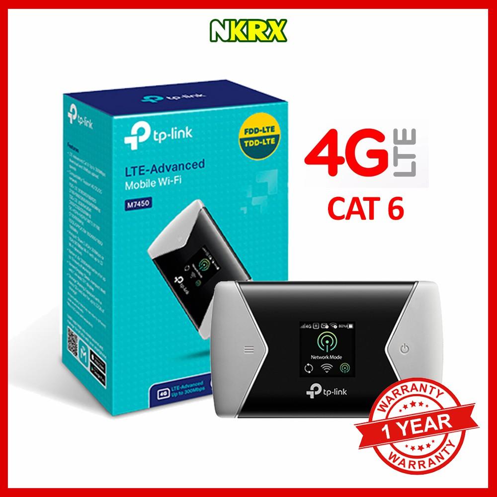 Tp Link M7350 4g Lte Advanced Mobile Wi Fi Hotspot Shopee Philippines Wifi Mifi