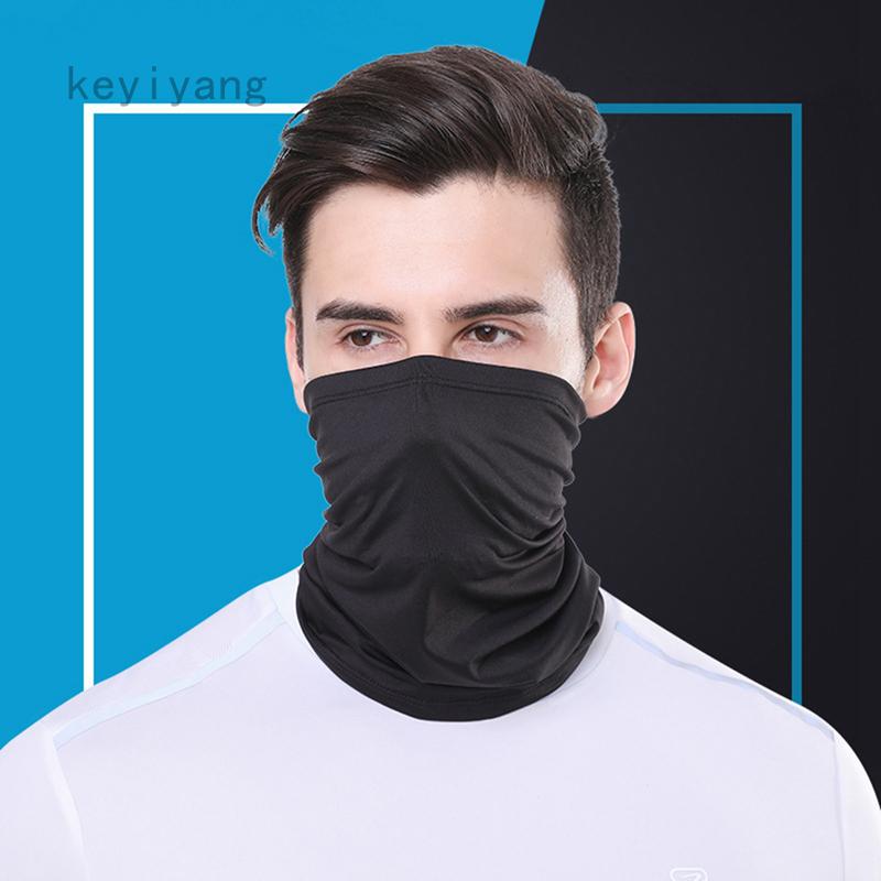 Bandana Face Covering Mask Biker Gaiter Tube Snood Scarf Seamless Neck Cover !!