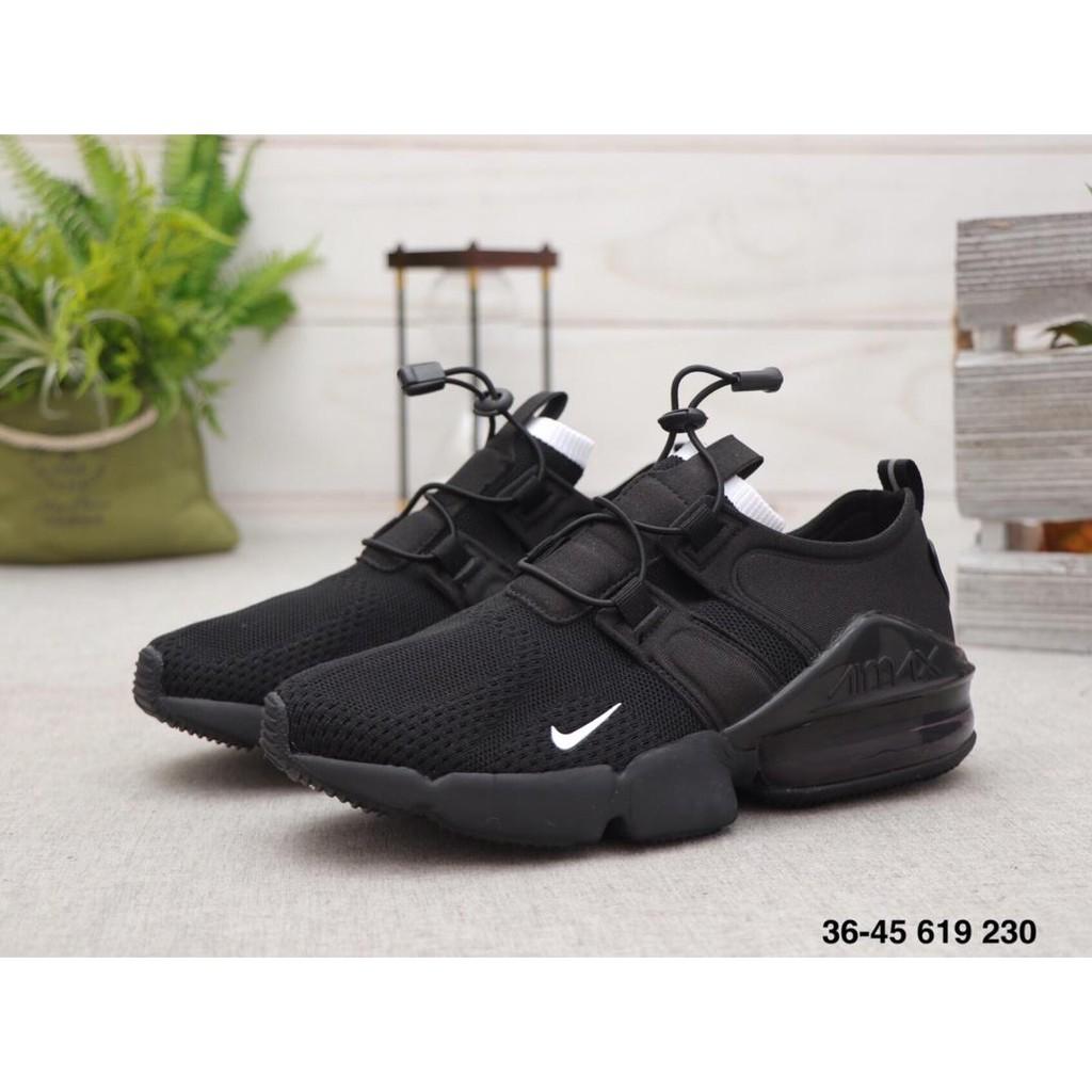 Original Nike Air Max 270 V2 Sneakers Men Women Running Shoes Retro Sports Shoes Black