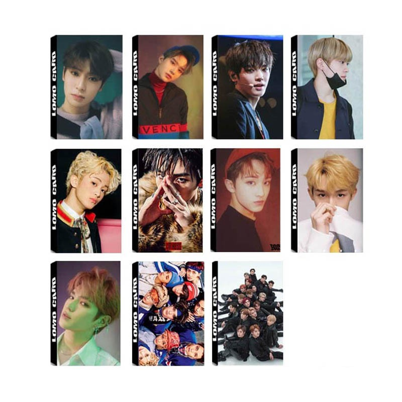 NCT Empathy NCT U Album LOMO Card Self Made Paper PhotoCard