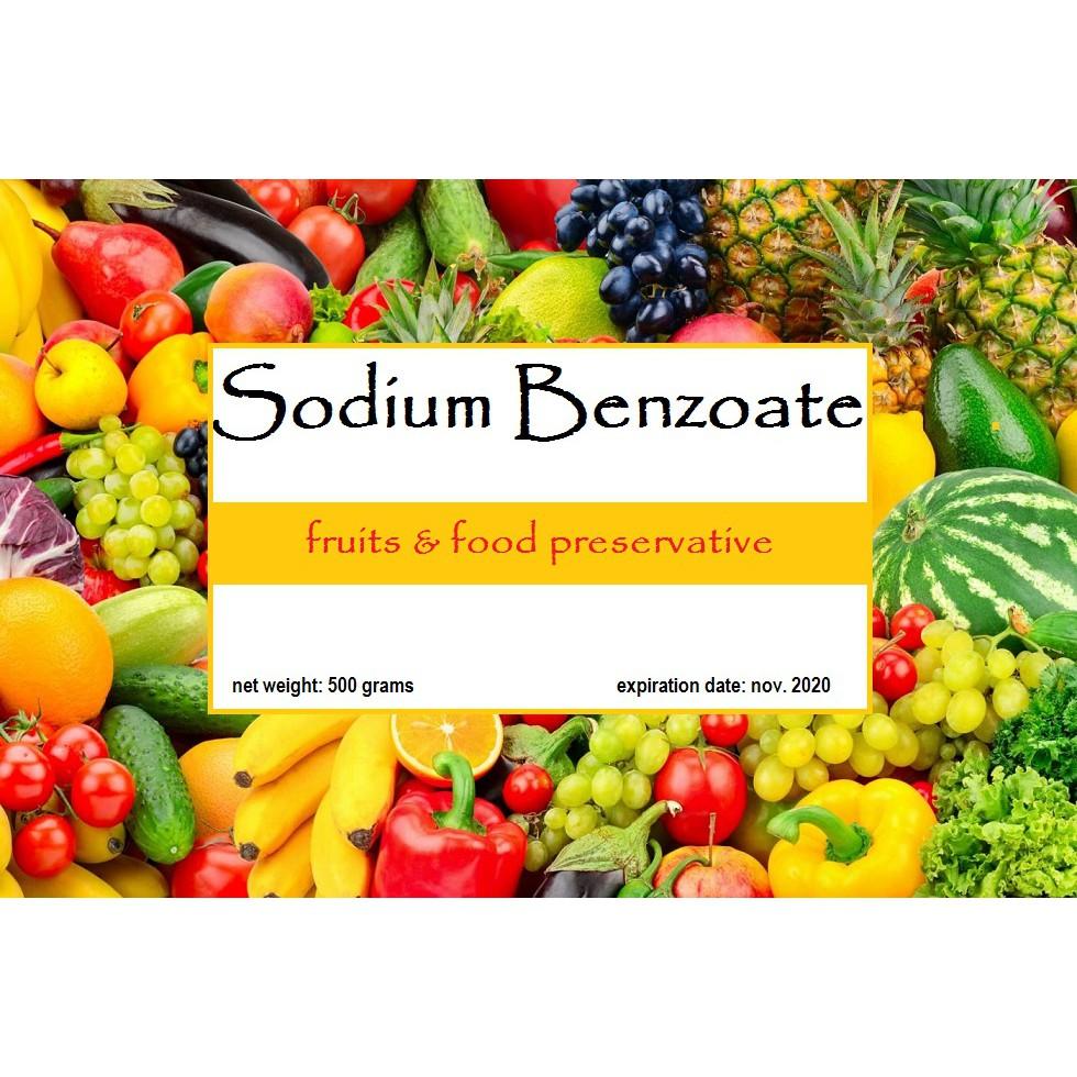 sodium benzoate 500 grams