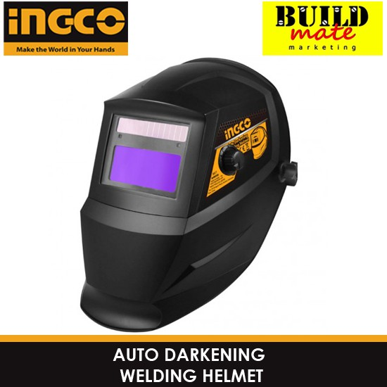 Welding Helmets Welding & Soldering Supplies Solar Energy Automatic Dimming Welding Mask Tig Spot Welding Helmet Large Window And 4 Sensors External Adjustment Din5-din13