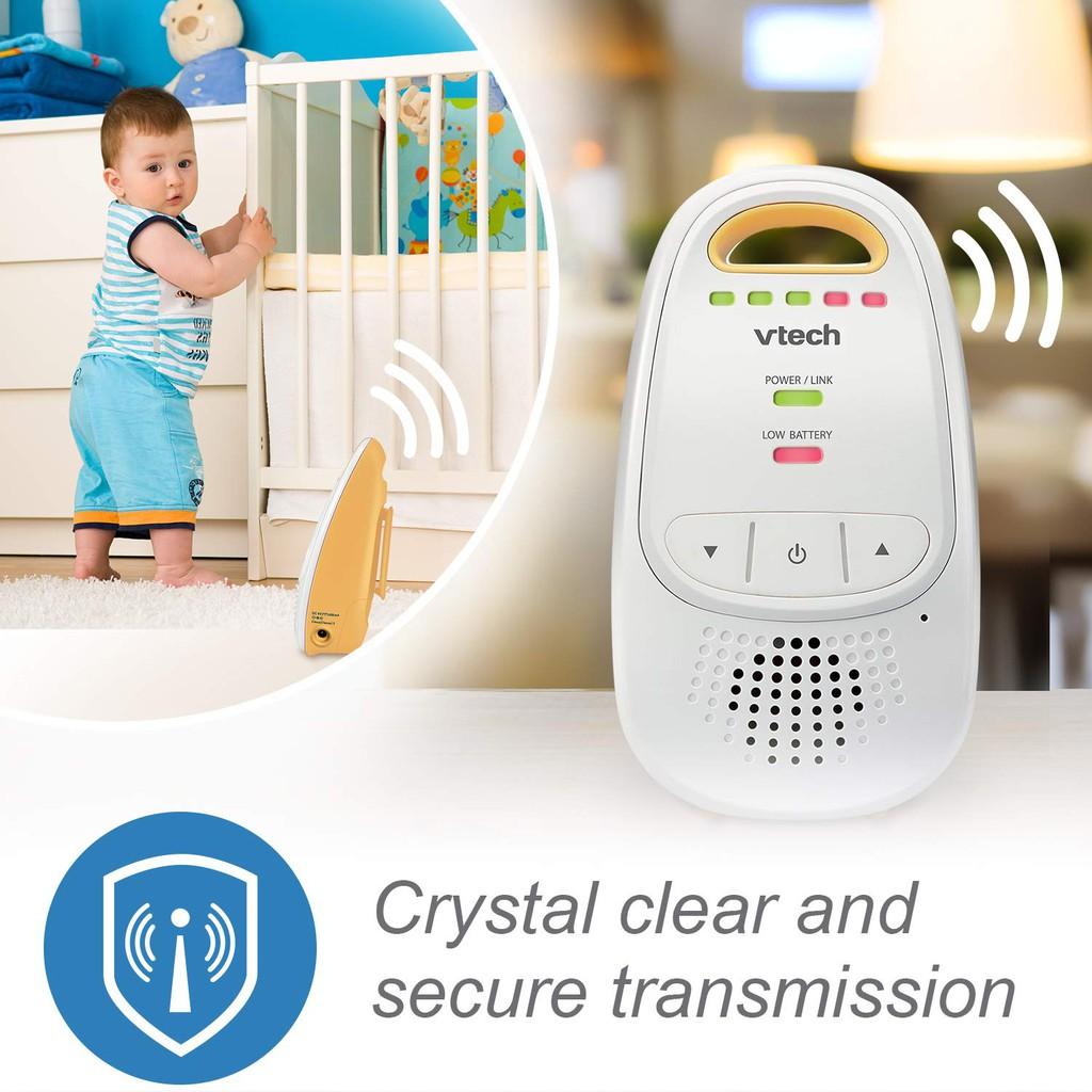 DM111 1000ft range VTech Digital Audio Baby Monitor w// Belt Clip