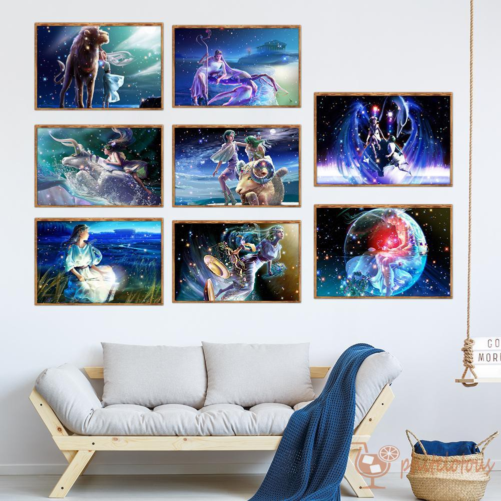 Constellation DIY 5D Diamond Painting Embroidery Cross Craft Stitch Home Decor