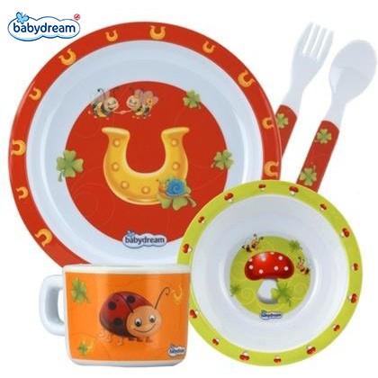 Babydream Infant Baby Feeding Plate