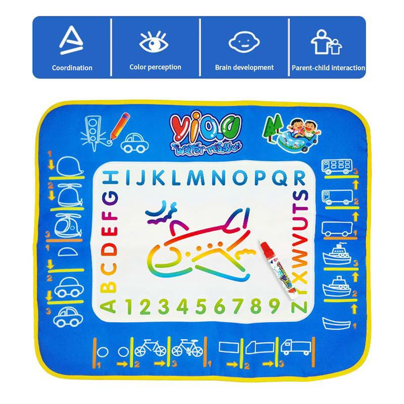 Doodle Drawing Mat Children's Drawing Educational Toy Mat