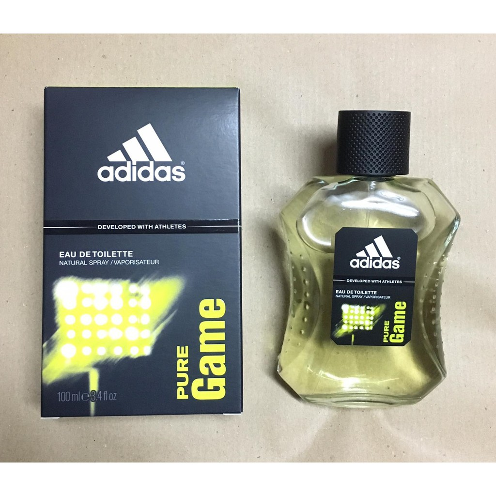 Anuncio rodillo cocaína  Adidas Pure Game By Adidas Cologne For Men 100ml Adidas Perfume For Men    Shopee Philippines