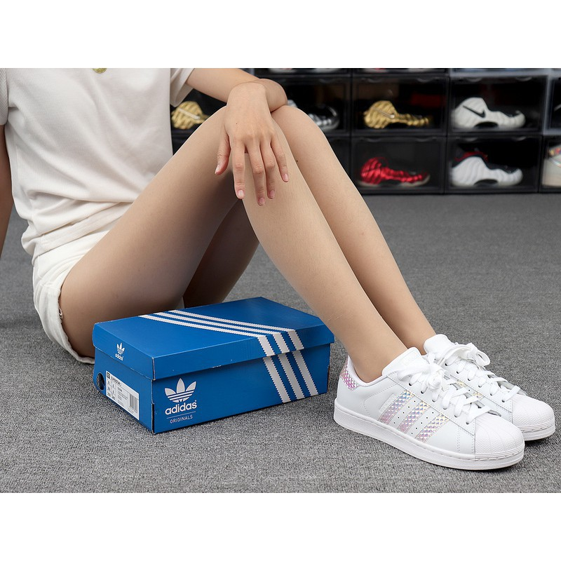 Adidas Superstar Skateboard Shoes For Women Shoes Adidas Shoes Flat Shoes CG3596