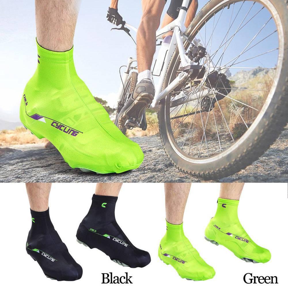 Cycling Shoe Covers Bicycle Bike Overshoe Rain Toe Protector Waterproof 1Pair