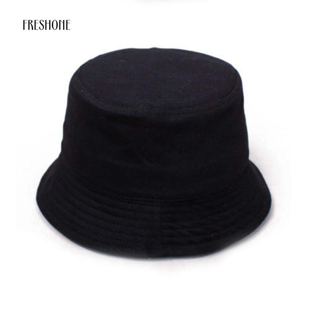 7e8c3223e14 Plain Bucket Hat