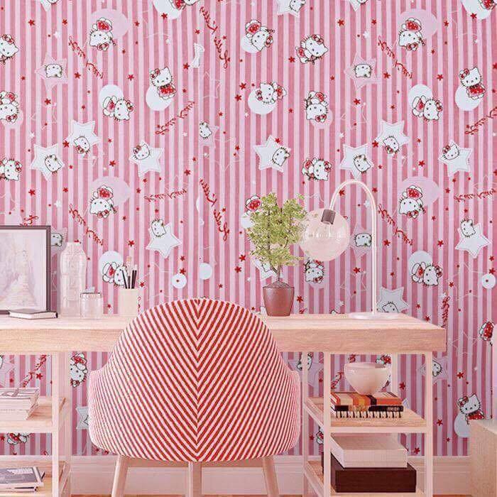 6226 Hello Kitty Self Adhesive Wallpaper Shopee Philippines