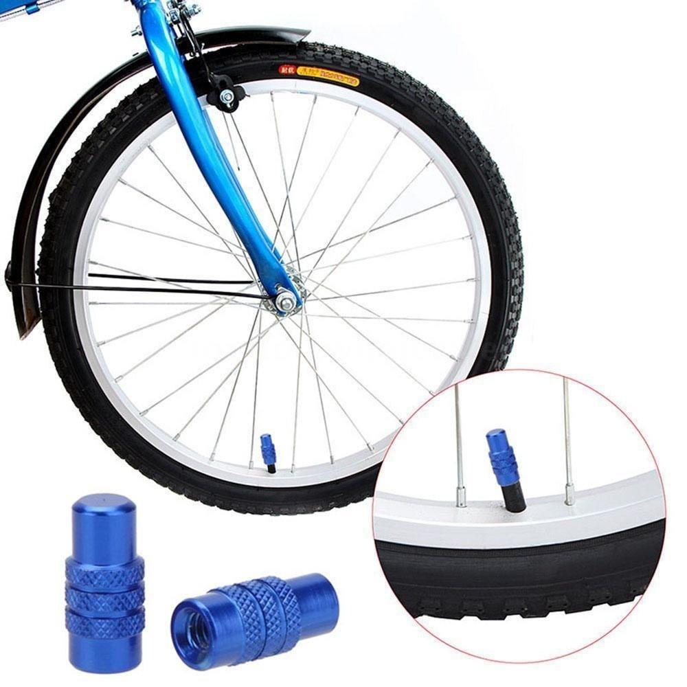 Best 5x Road bike MTB Wheel Rim Tyre Stem Presta Valve Air Cap Dust Cover US