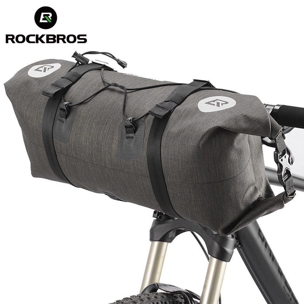Rockbros Waterproof Bicycle Roll Bag Shopee Philippines 010 4bk Mtb Handlebar 6 Inch
