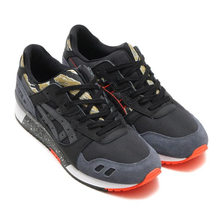 Ori Asics Gel Lyte III men women black sports sneakers shoes