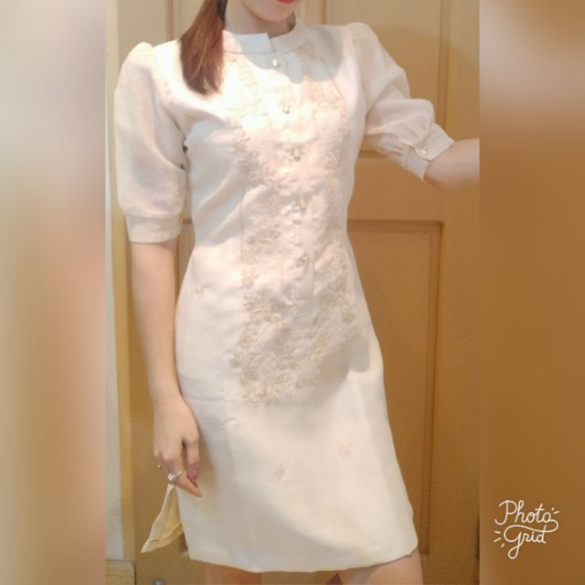 1357ea246e6 Lady Barong With Skirt | Shopee Philippines