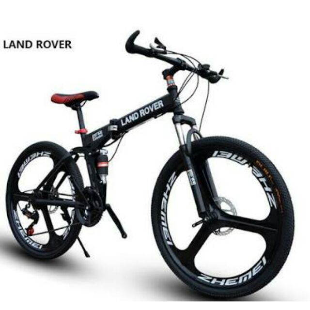 441fc3daae9 Land Rover Folding Foldable bike MAGS wheel Full SUSPENSION | Shopee  Philippines