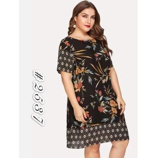 fashion women plus size dress