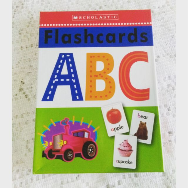 Scholastic ABC Flascards Alphabet