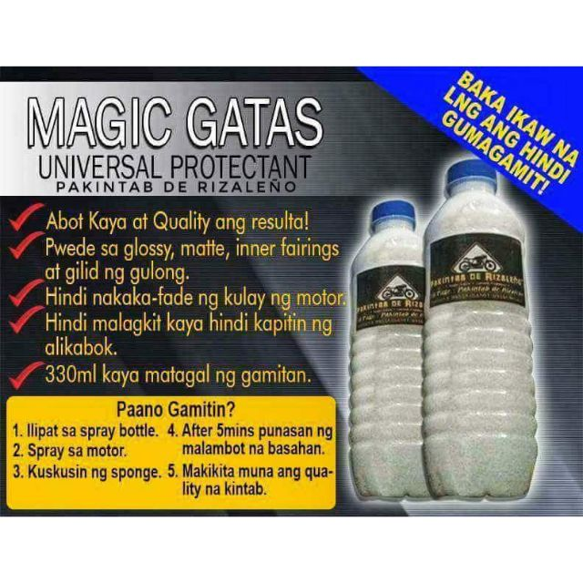 MAGIC GATAS (330ml) wax only