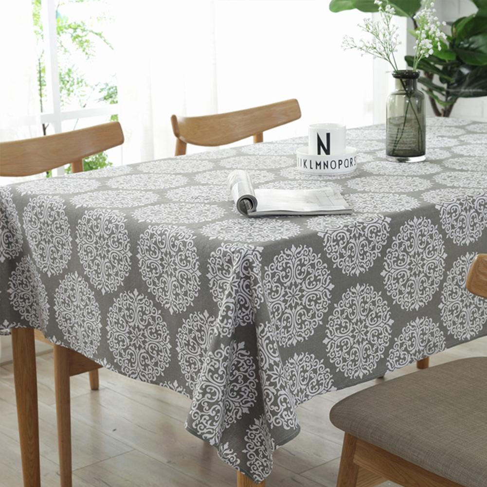 Home & Garden Ingenious Table Cloth Garden Lace Edge Tablecloth Style Cotton Tower Cartoon European Table Cover Rectangular Christmas Tablecloth