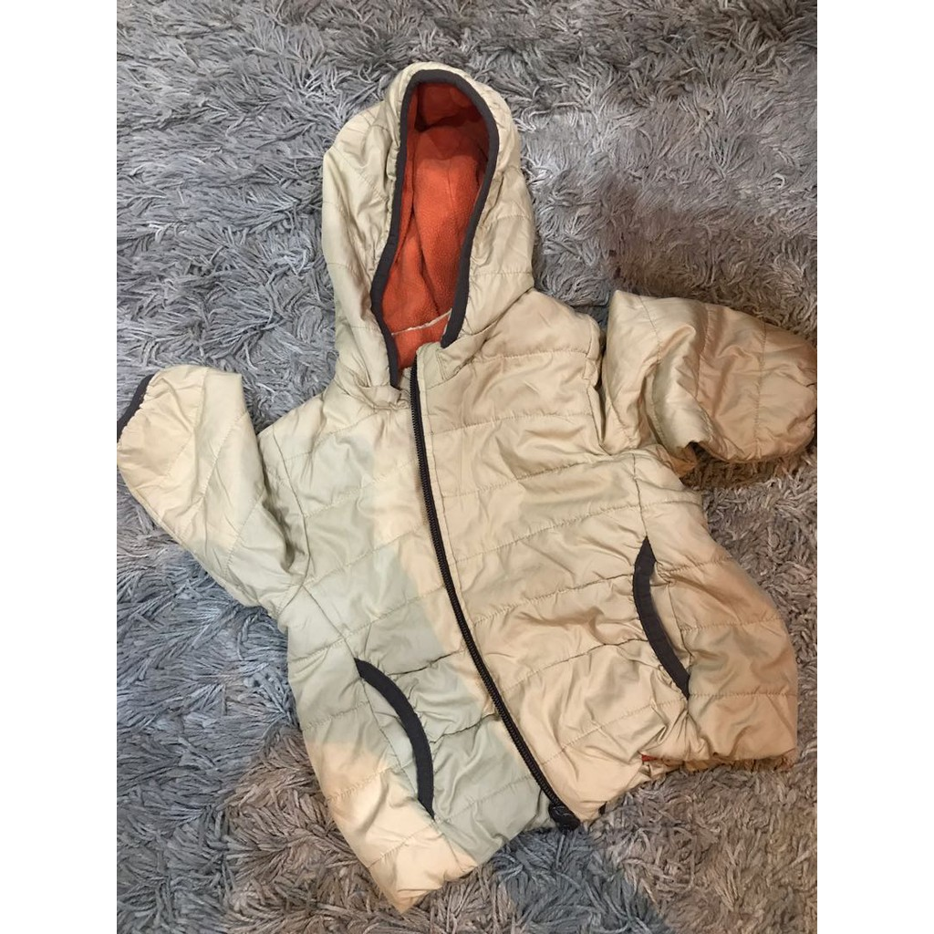 b6414e105 Uniqlo Kids Warm Padded Jacket