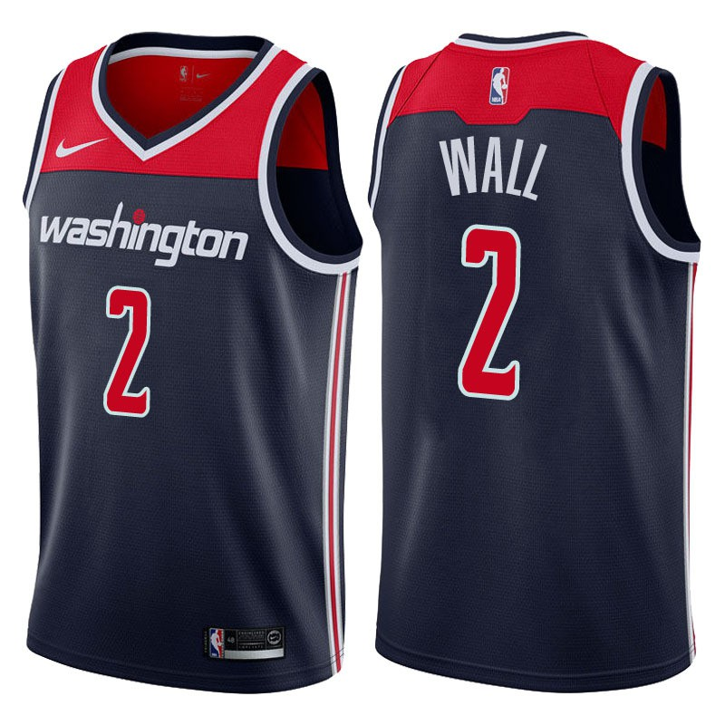check out 2d5c8 bc719 Nike Washington Wizards John Wall NBA Jersey #2Lowprice blue