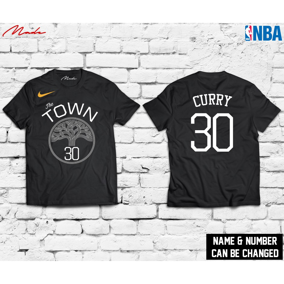 promo code 4f6b9 cf343 NBA - Golden State Warriors The Town Curry Jersey Shirt
