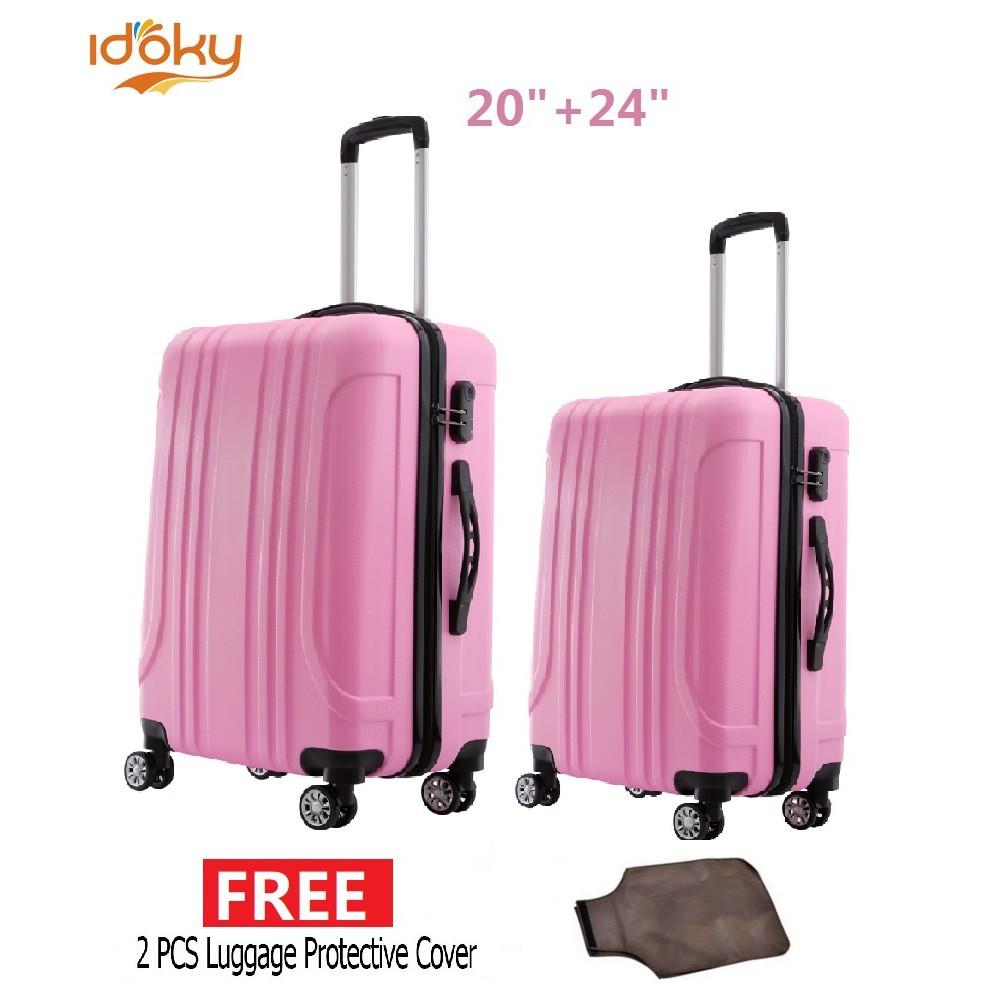 30aa063d1b Idoky Premium Universal Suitcase Rolling HelloKitty Luggage