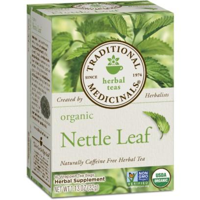 Traditional Medicinals Organic Herbal Nettle Leaf Tea