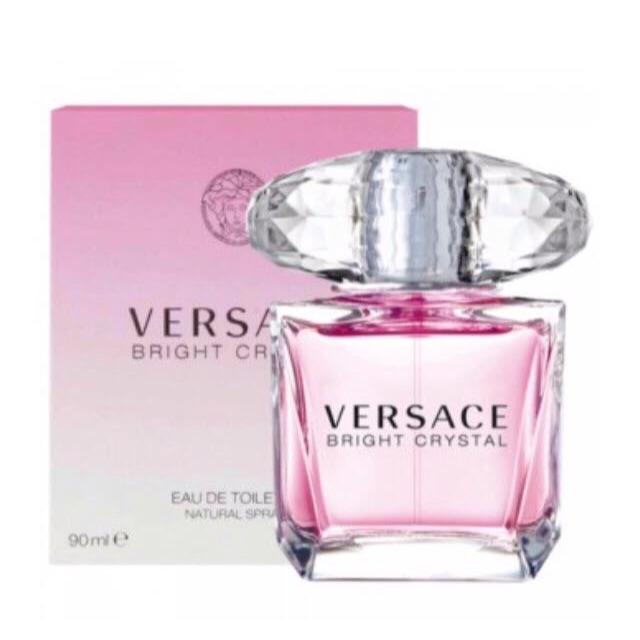 Crystal Eau 90ml Versace De For Women Bright Parfum OwPn0k