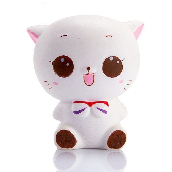 Jinhf Fun Novelty Antistress Ball Cat Toy Cute Cat Emotion Vent Dolls Adult Children Toys Gift Cellphones & Telecommunications