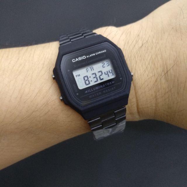16c17cf6f9b4 Bestseller Casio A168 Vintage Illuminator Watch (Black)