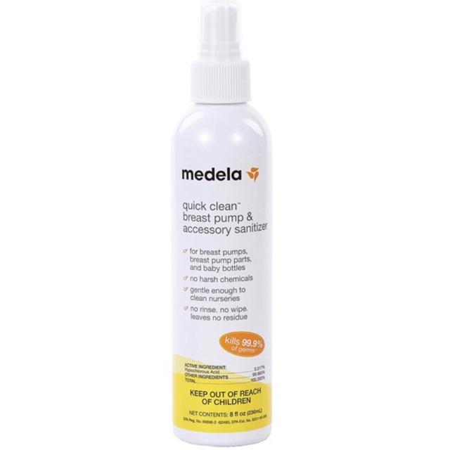 Medela Quick Clean Breast Pump Sanitizer Spray