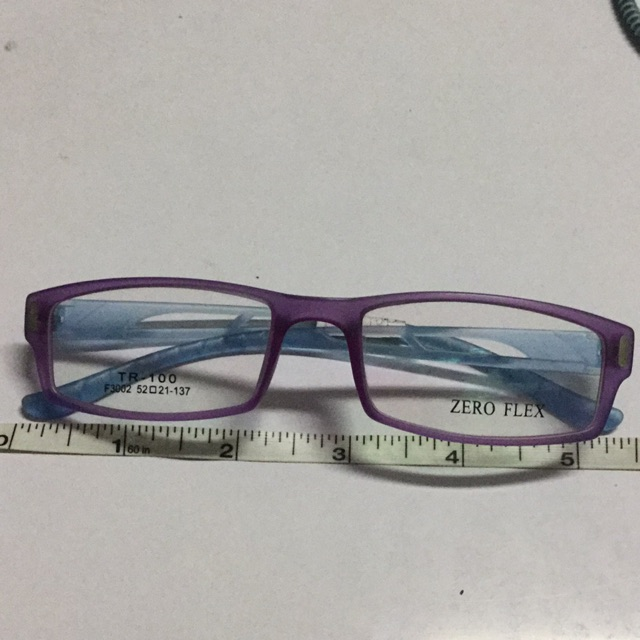 Zero Flex Violet and Blue frame   Shopee Philippines