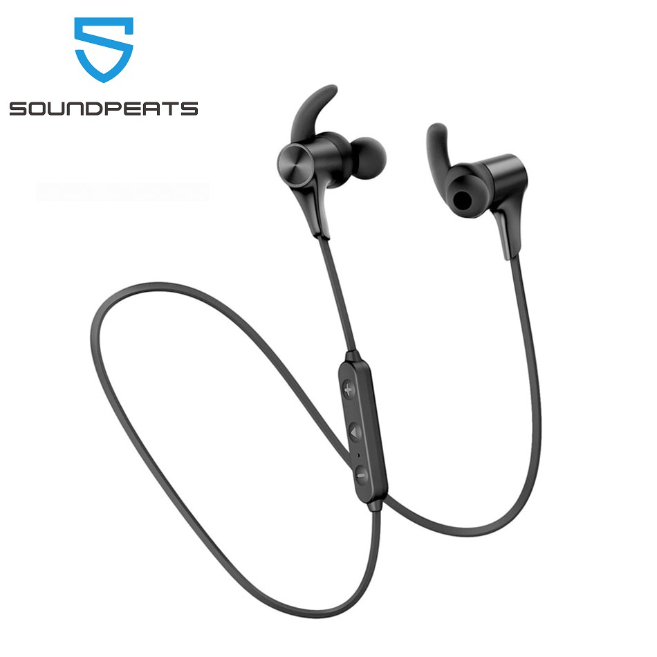 SoundPEATS Bluetooth Earphones Magnetic Wireless Earbuds in-Ear IPX6 Sports Headset 14Hrs Playtime