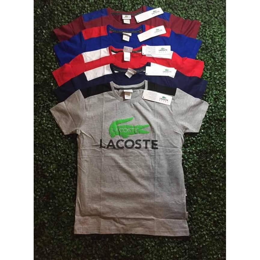 buy best save off new concept Lacoste T-shirt made in Bangladesh