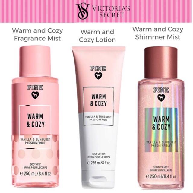 53eb13545a Victoria s Secret Pink Warm and Cozy Mist