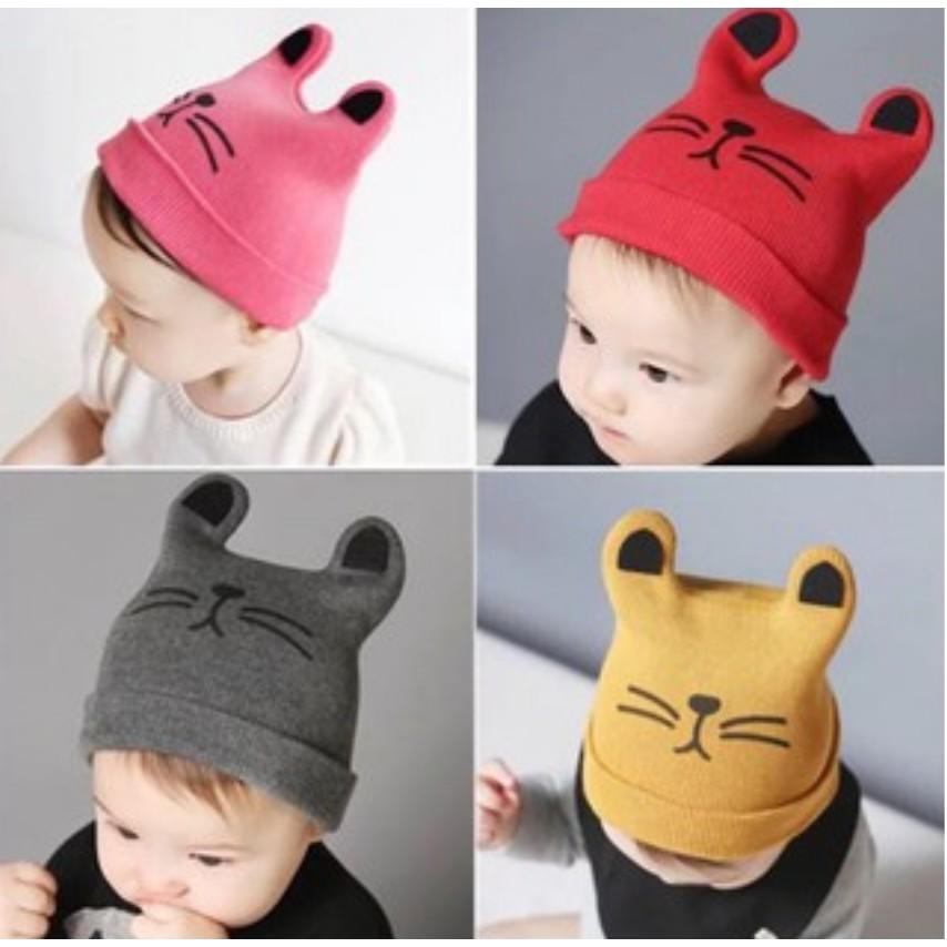 5359cb312 Korean Cute Lovely Kids Baby head Cap Soft Hat Baby Cap