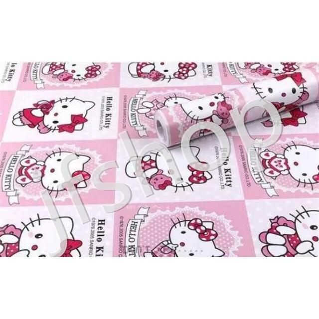 Hello Kitty Wall Paper Sticker Shopee Philippines