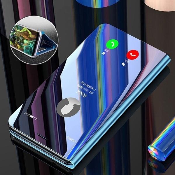 Oppo F5 F7 F9 Case Smart Mirror Flip Clear View Cover