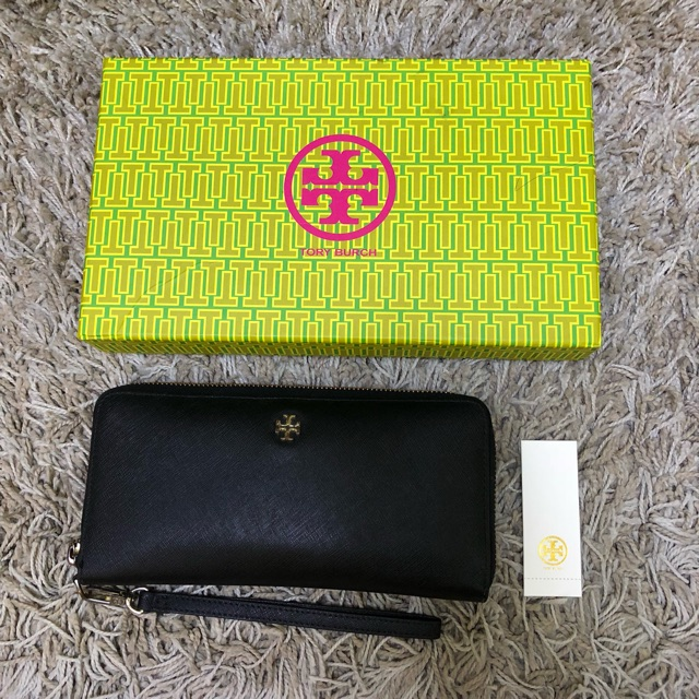 fffd63f2144152 Authentic Tory Burch Zippy long wallet   Shopee Philippines