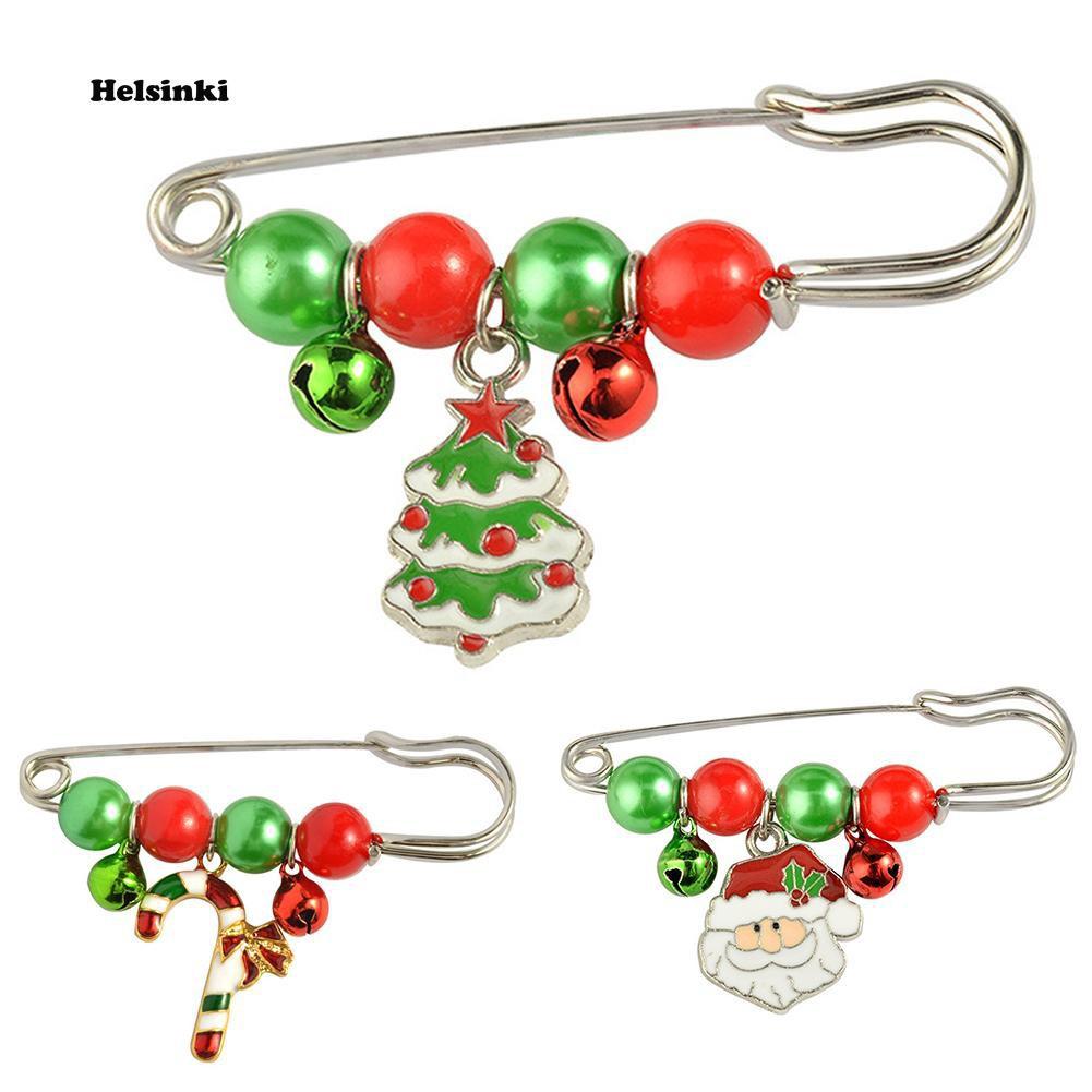 EG/_ Women/'s Christmas Rhinestone Elk Deer Brooch Pin Breastpin Jewelry Gift Fash