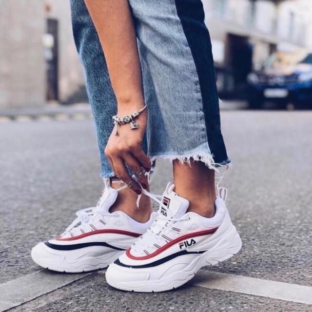 9b8b5bae WBAG❤ Fashion Fila Ray high cut sneakers for women