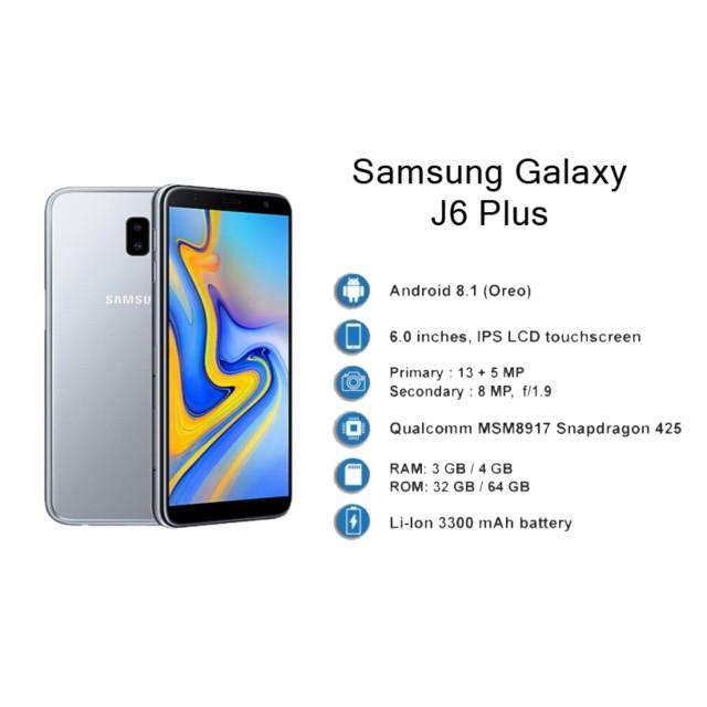 Samsung Galaxy J6 Plus 6 0