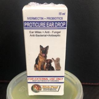 Proticure Ear Drop 15ml | Shopee Philippines