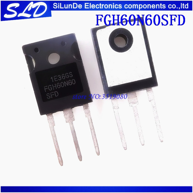 10pcs//lot FGH60N60SFD FGH60N60 60N60 IGBT 600V 120A 378W TO-247