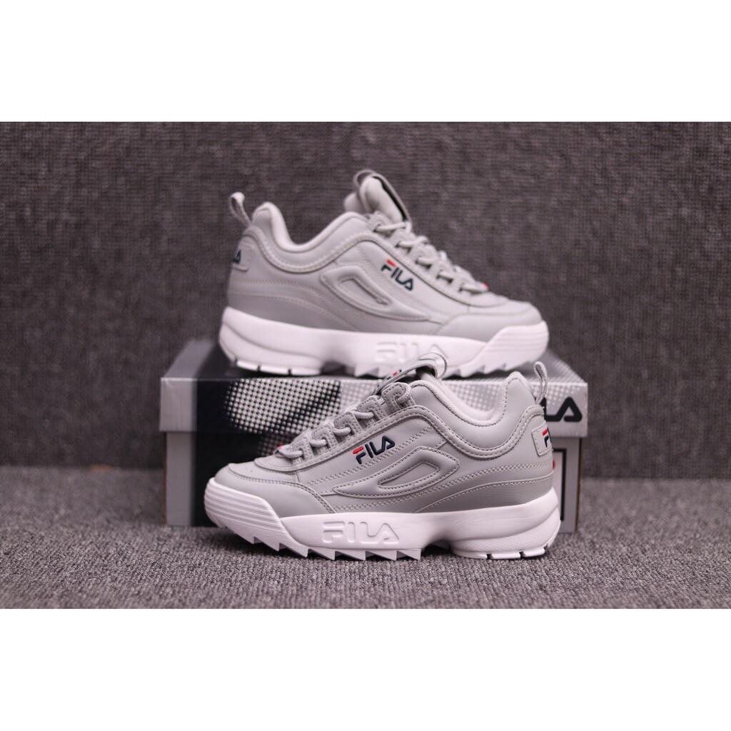 Fila Disruptor II 2 Generation Grey - Korea Women Shoes  d36f017a60